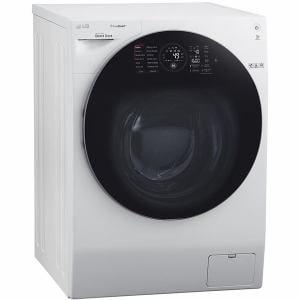 LGエレクトロニクス FG1611H2W ドラム式洗濯乾燥機 (左開き・洗濯11.0kg /乾燥6.0kg) LG DUALWash(エルジー・デュアルウォッシュ) Steamモデル ホワイト