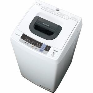 日立 NW-50C 全自動洗濯機 (洗濯5.0kg) ピュアホワイト