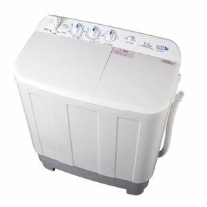 HERBRelax(ハーブリラックス) YWMTD55G1 二槽式洗濯機 ヤマダ電機オリジナル 5.5Kg ホワイト