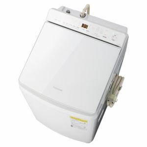 パナソニック NA-FW100K7-W 縦型洗濯乾燥機 洗濯10kg 乾燥5kg 泡洗浄 ホワイト