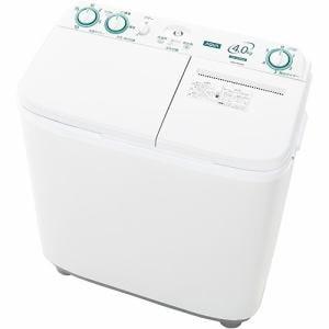 AQUA AQW-N40(W) 2槽式洗濯機 ホワイト 洗濯4.0kg