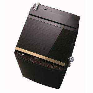 東芝 AW-10SV8(T) タテ型洗濯乾燥機 (洗濯脱水10kg / 乾燥5kg) グレインブラウン