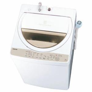 東芝 AW-6G8(W) 全自動洗濯機 (洗濯脱水6kg) グランホワイト