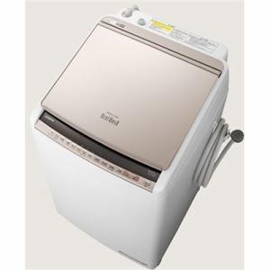 日立 BW-DV80E N 縦型洗濯乾燥機 (洗濯8.0kg /乾燥4.5kg) シャンパン