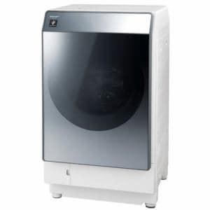 シャープ ES-W112-SR ドラム式洗濯乾燥機 (洗濯11.0kg/乾燥6.0kg・右開き) シルバー系