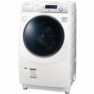 シャープ ES-H10D-WR ドラム式洗濯乾燥機 (洗濯10.0kg/乾燥6.0kg・右開き) ホワイト系