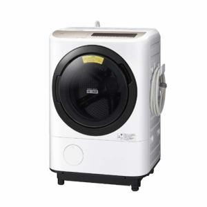 日立 BD-NV120EL W ドラム式洗濯乾燥機 (洗濯12kg /乾燥6.0kg・左開き) ホワイト