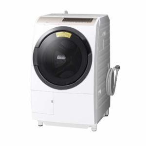 日立 BD-SV110EL W ドラム式洗濯乾燥機 (洗濯11.0kg /乾燥6.0kg・左開き) ホワイト