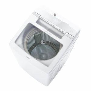 AQUA AQW-GV100H-W 簡易乾燥機能付き洗濯機 10kg ホワイト