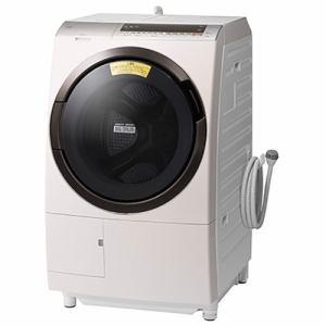 日立 BD-SX110EL N ドラム式洗濯乾燥機 ビッグドラム (洗濯11.0kg /乾燥6.0kg・左開き) ロゼシャンパン