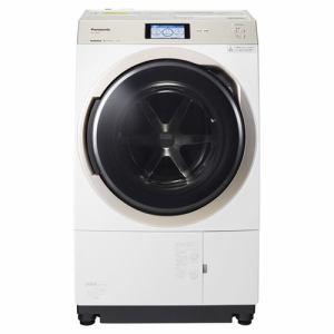 パナソニック NA-VX900AL-W ドラム式洗濯乾燥機 (洗濯11.0kg /乾燥6.0kg・左開き) クリスタルホワイト