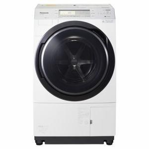 パナソニック NA-VX700AL-W ドラム式洗濯乾燥機 (洗濯10.0kg /乾燥6.0kg・左開き) クリスタルホワイト