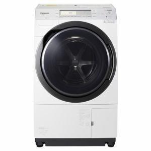 パナソニック NA-VX700AR-W ドラム式洗濯乾燥機 (洗濯10.0kg /乾燥6.0kg・右開き) クリスタルホワイト