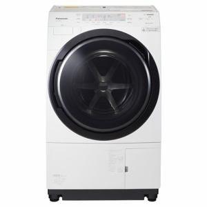 パナソニック NA-VX300AL-W ドラム式洗濯乾燥機 (洗濯10.0kg /乾燥6.0kg・左開き) クリスタルホワイト