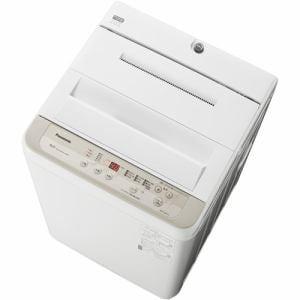 パナソニック NA-F50B13-N 全自動洗濯機 5kg シャンパン