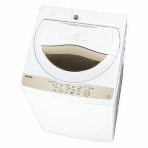東芝 AW-5G8-W 全自動洗濯機 ZABOON(ザブーン) 洗濯5.0kg グランホワイト