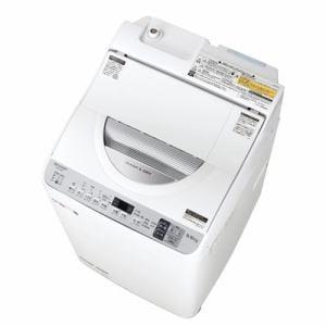 シャープ ES-TX5D-S タテ型洗濯乾燥機 (洗濯5.5kg・乾燥3.5kg) シルバー系