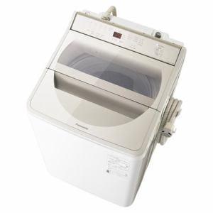 洗濯機 パナソニック 10KG NA-FA100H8-N 全自動洗濯機 (洗濯10kg) 泡洗浄 シャンパン