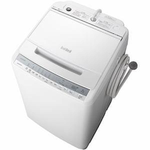 洗濯機 日立 8KG BW-V80F W 全自動洗濯機 ビートウォッシュ (洗濯・8kg) ホワイト