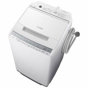 洗濯機 日立 7KG BW-V70F W 全自動洗濯機 ビートウォッシュ (洗濯7kg) ホワイト