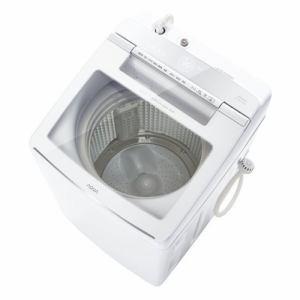 アクア AQW-GVW100J(W) 簡易乾燥機能付き洗濯機 (洗濯10kg) ホワイト