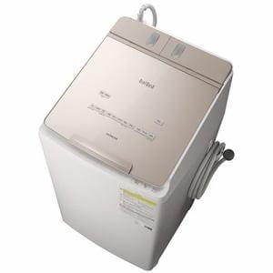洗濯機 日立 乾燥機付き 9KG BW-DX90F N 縦型洗濯乾燥機 ビートウォッシュ (洗濯9kg・乾燥5kg) シャンパン