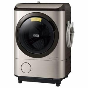 日立 BD-NX120FL N ドラム式洗濯乾燥機 ビッグドラム (洗濯12kg・乾燥7kg) 左開き ステンレスシャンパン