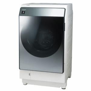 シャープ ES-W113-SL ドラム式洗濯乾燥機 (洗濯11.0kg・乾燥6.0kg) 左開き シルバー系