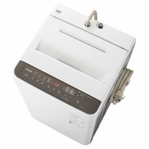 パナソニック NA-F60PB14-T 全自動洗濯機 (洗濯6kg) ニュアンスブラウン