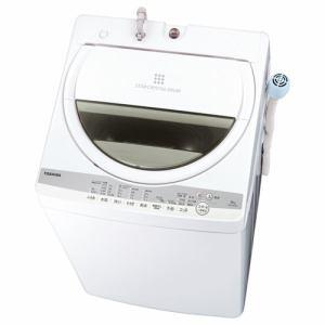 東芝 AW-6G9(W) 全自動洗濯機 (洗濯6kg) グランホワイト