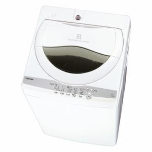 東芝 AW-5G9(W) 全自動洗濯機 5kg グランホワイト