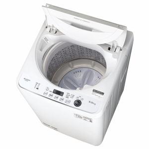 シャープ ES-GE5E-W 全自動洗濯機 (洗濯・乾燥5.5kg) ホワイト系
