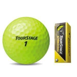 ブリヂストン TOURSTAGE EXTRA DISTANCE(ツアーステージ エキストラディスタンス)ボール 12球入 ゴルフボール TOURSTAGE  イエロー