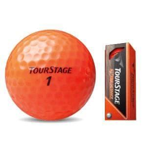 ブリヂストン TOUR STAGE EXTRA DISTANCE 【ゴルフボール】 1スリーブ(3球) オレンジ