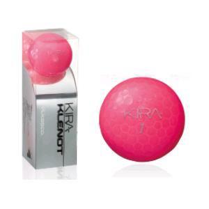 キャスコ KIRA KLENOT 【ゴルフボール】 2014年モデル 1スリーブ(3球)ピンクサファイア