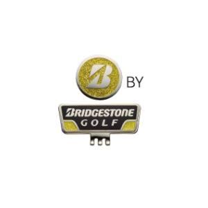 ブリヂストンゴルフ GAG401キャップマーカー 【マーカー】 黒/黄