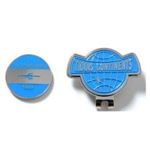 トランスコンチネンツ TCCM-01 【マーカー】 ロゴデザイン クリップマーカー ブルー