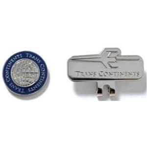 トランスコンチネンツ TCCM-02 【マーカー】 ロゴデザイン クリップマーカー ネイビー