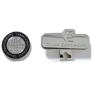 トランスコンチネンツ TCCM-02 【マーカー】 ロゴデザイン クリップマーカー ブラック