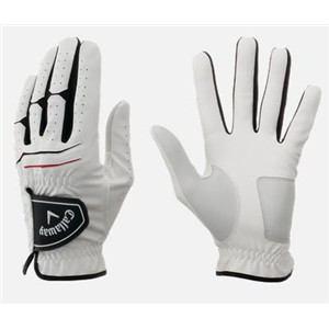 キャロウェイ Warbird Glove 15 JM 【ゴルフグローブ】 24cm ホワイト