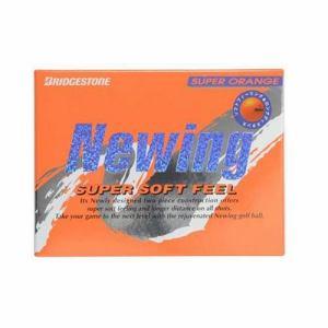 ブリヂストン Newing SUPER SOFT FEEL 【ゴルフボール】 1ダース(12球) スーパーオレンジ