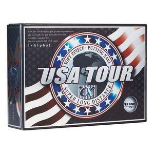 USA ツアーディスタンス +α ゴルフボール 1ダース 12球入り(ホワイト) USA TOUR DISTANCE +α 12P WHITE USA TOUR WH