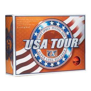 USA ツアーディスタンス +α ゴルフボール 1ダース 12球入り(オレンジ) USA TOUR DISTANCE +α 12P ORANGE USA TOUR OR