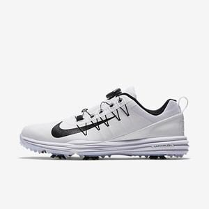 ナイキ メンズ・ゴルフシューズ ワイド(ホワイト/ ホワイト/ ブラック・26.0cm) Nike ナイキ ルナ コマンド 2 BOA NK17S 849970-100 260