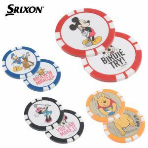 スリクソン SRIXON ゴルフ マーカー ディズニーチップマーカー GGF-07105