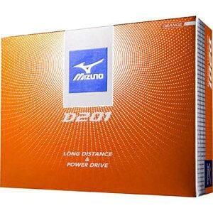 ミズノ ゴルフボール D201《1ダース(12球)/オレンジ》5NJBD22740