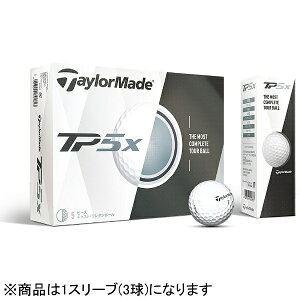 テーラーメイドゴルフ ゴルフボール TP5X《1スリーブ(3球)/ホワイト》