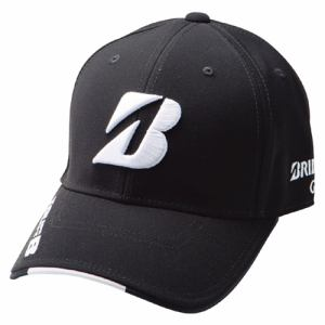 BRIDGESTONE(ブリヂストン)ゴルフ アクセサリー BSG PROMODEL CAP CPG711 BLK CPG711 メンズ L ブラック