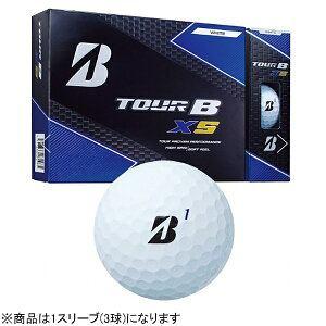 ブリヂストン ゴルフボール TOUR B XS《1スリーブ(3球)/ホワイト》8SWXJ