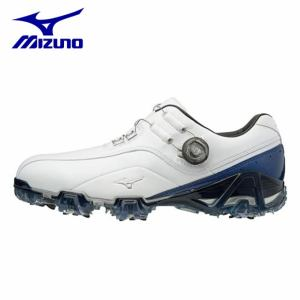 ミズノ ゴルフシューズ ソフトスパイク メンズ ジェネム008ボア EEEE 51GQ180022 MIZUNO